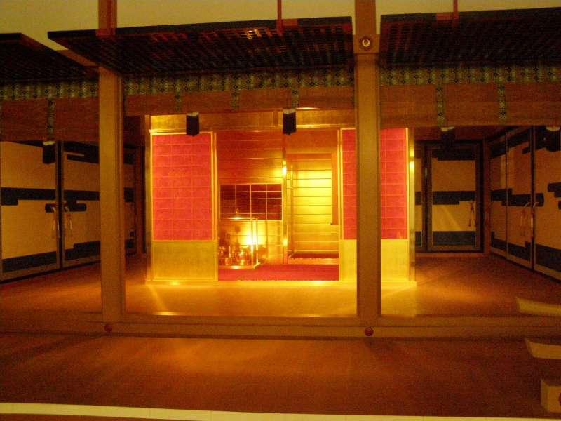 Golden tea room at the MOA