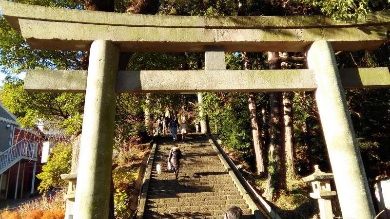 Izusan Shrine was patronized by many shoguns