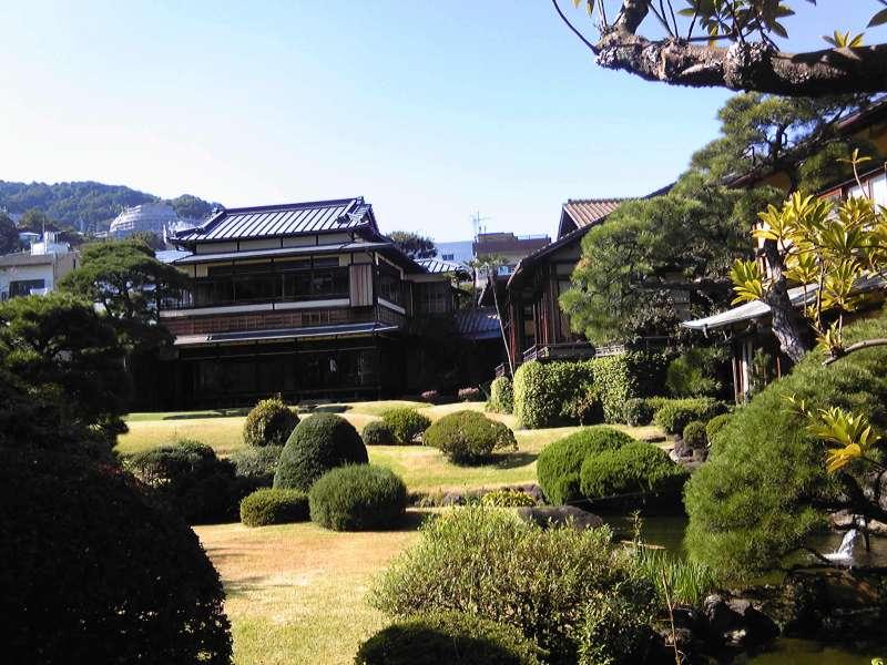 Kiunkaku, a beautiful historical villa of a shipping tycoon