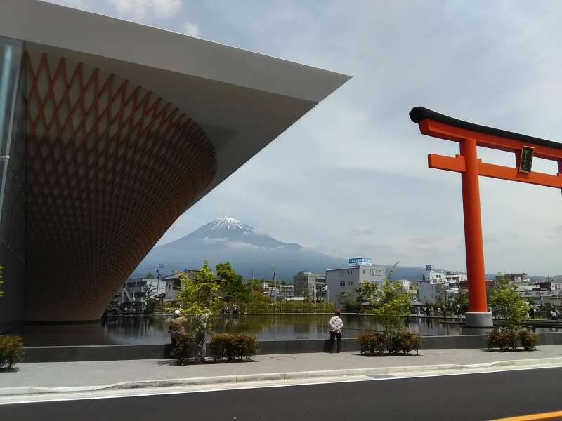 Mt. Fuji from the World Heritage Center