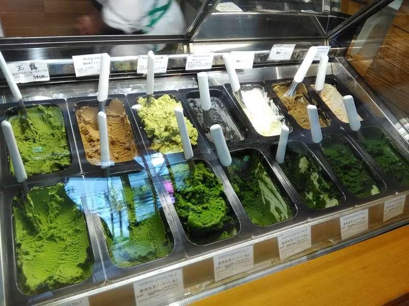 Shizuoka has the richest matcha ice cream in the world.