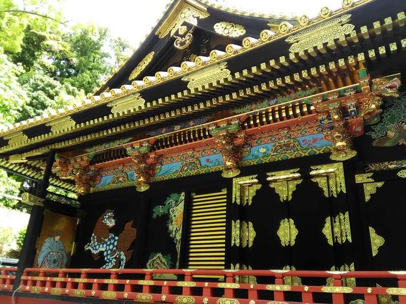 Kunozan Toshogu Shrine is the burial site of Shogun Ieyasu.