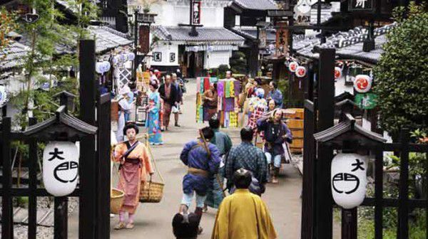 At the Edo Wonderland you can see how people lived during the time of Edo!!