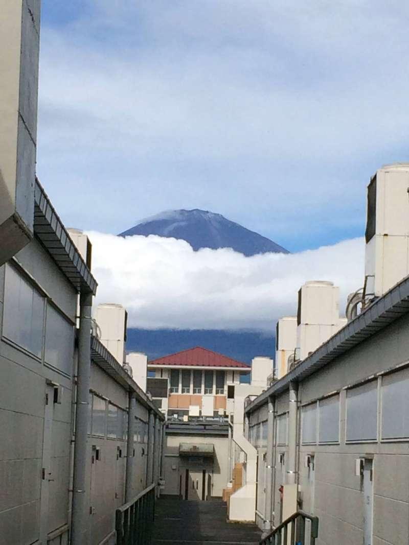 夏天的富士山,清楚又漂亮