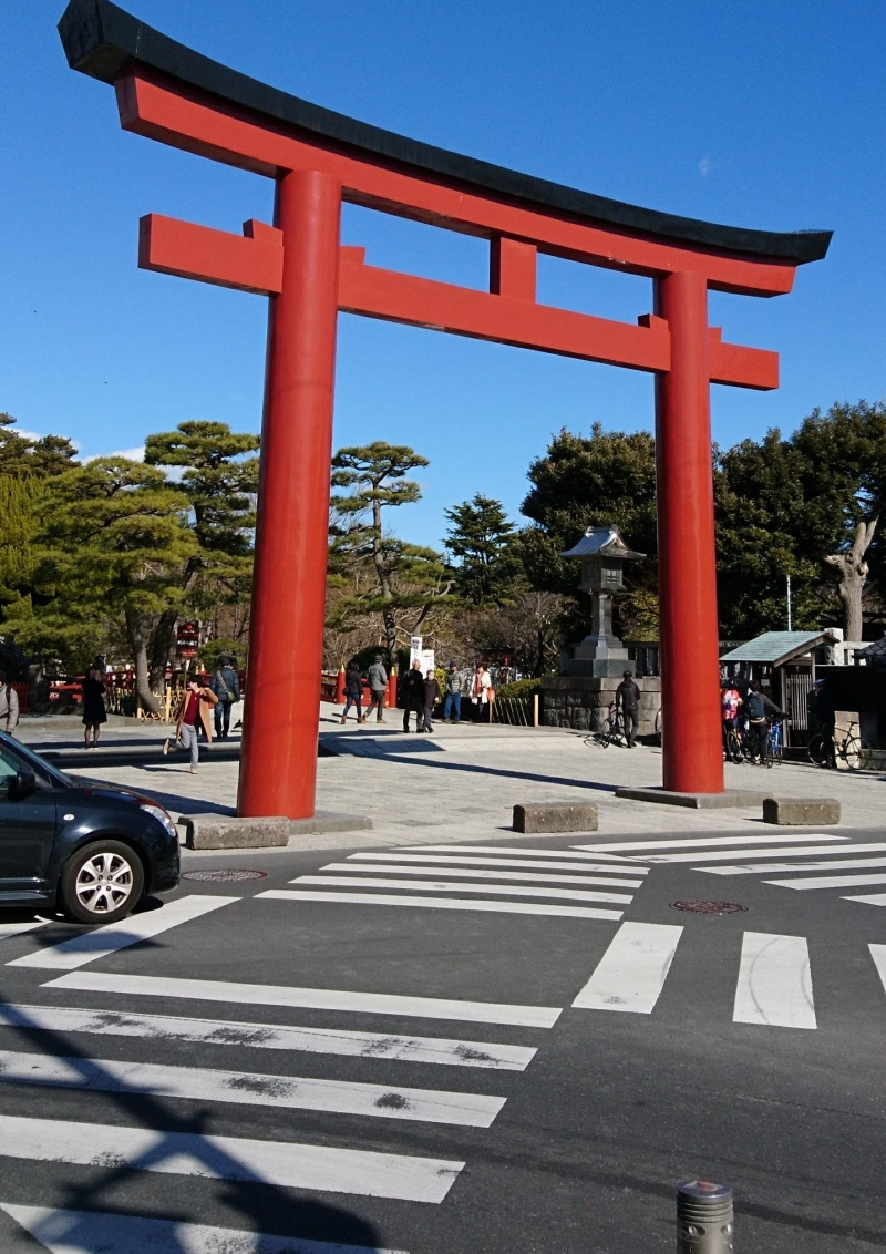 Torii (Gateway to Shogun's Shrine)