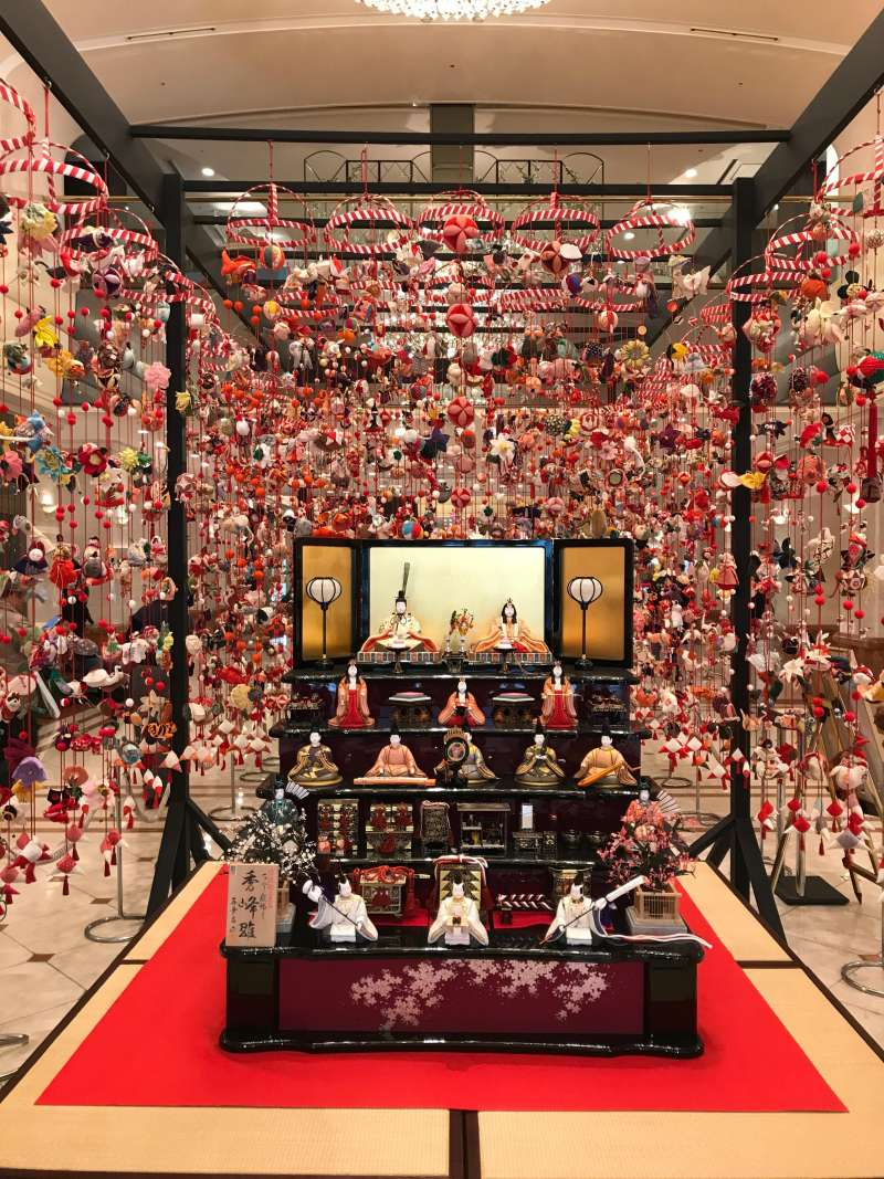 Special event of the day: ex) Hina dolls display is for the  girls' festival (around March 3) (#6)