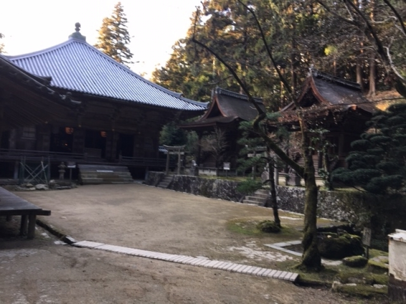The most sacred Okunoin Sanctuary: about 15-minute walk from Maniden