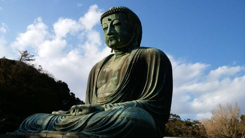 The height of Big Buddha is about 13 meters.
