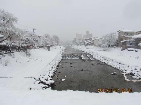 Miya River in Takayama