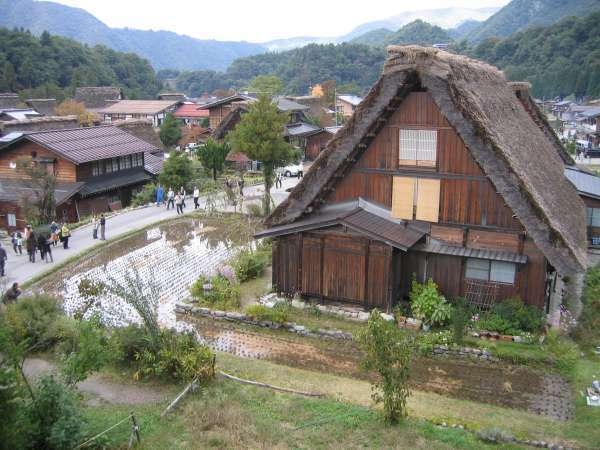 Shirakawa-go.