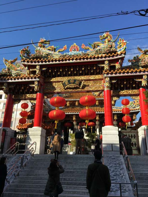 Chinese temple which is regarded as good of study and commerce.