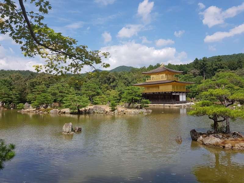 Golden Pavilion - One of the main spots we could visit together.