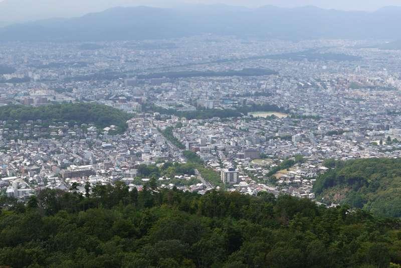 Panoramic view from the Daimoji mountain