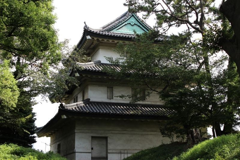 6. Fujimi Turret where the shoguns (Samurai leaders) enjoyed the view of Mt. Fuji in Edo Period after the main tower burned down in 1657.