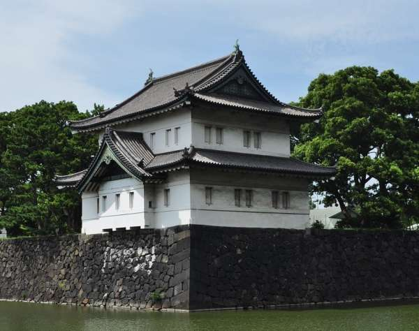 3. Tatsumi Turret, one of the three turrets restored as a part of Edo castle.