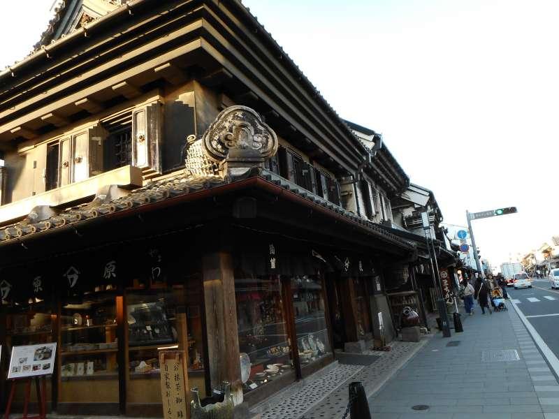 Old town in Kawagoe