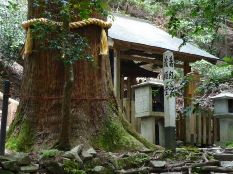 Small Buddhist hall in Kurama mountains
