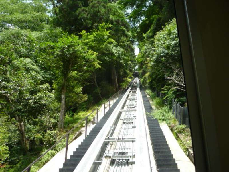 Cable car which can take you to the middle of mountains