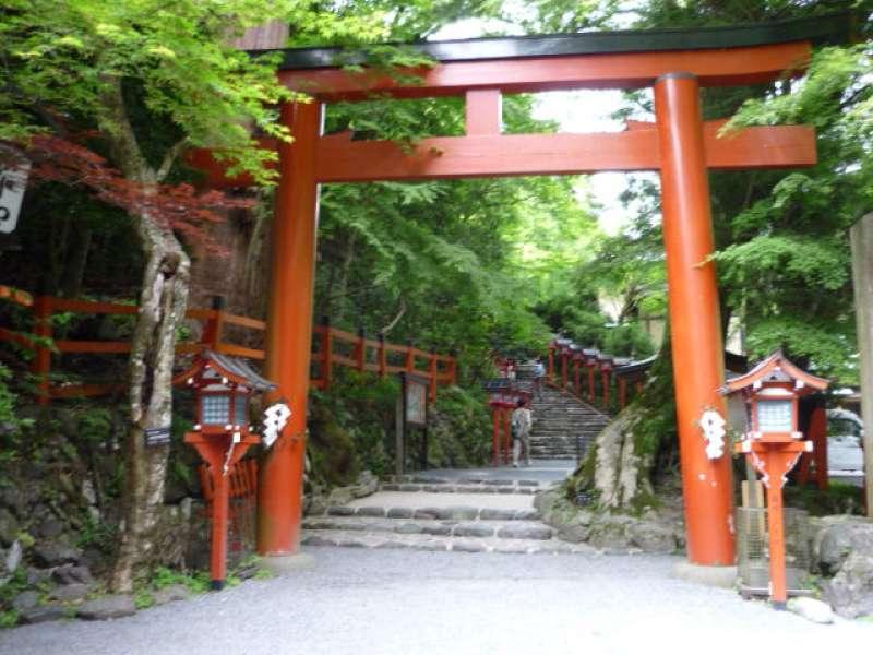 Kifune Jinja shrine, which is dedicated to the Goddess of water