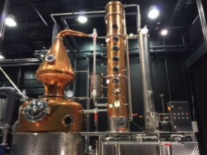 中國釀造!參觀新開的蒸餾所