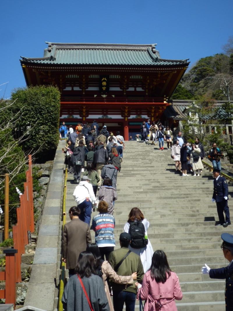 Der Tsurugaoka-Schrein