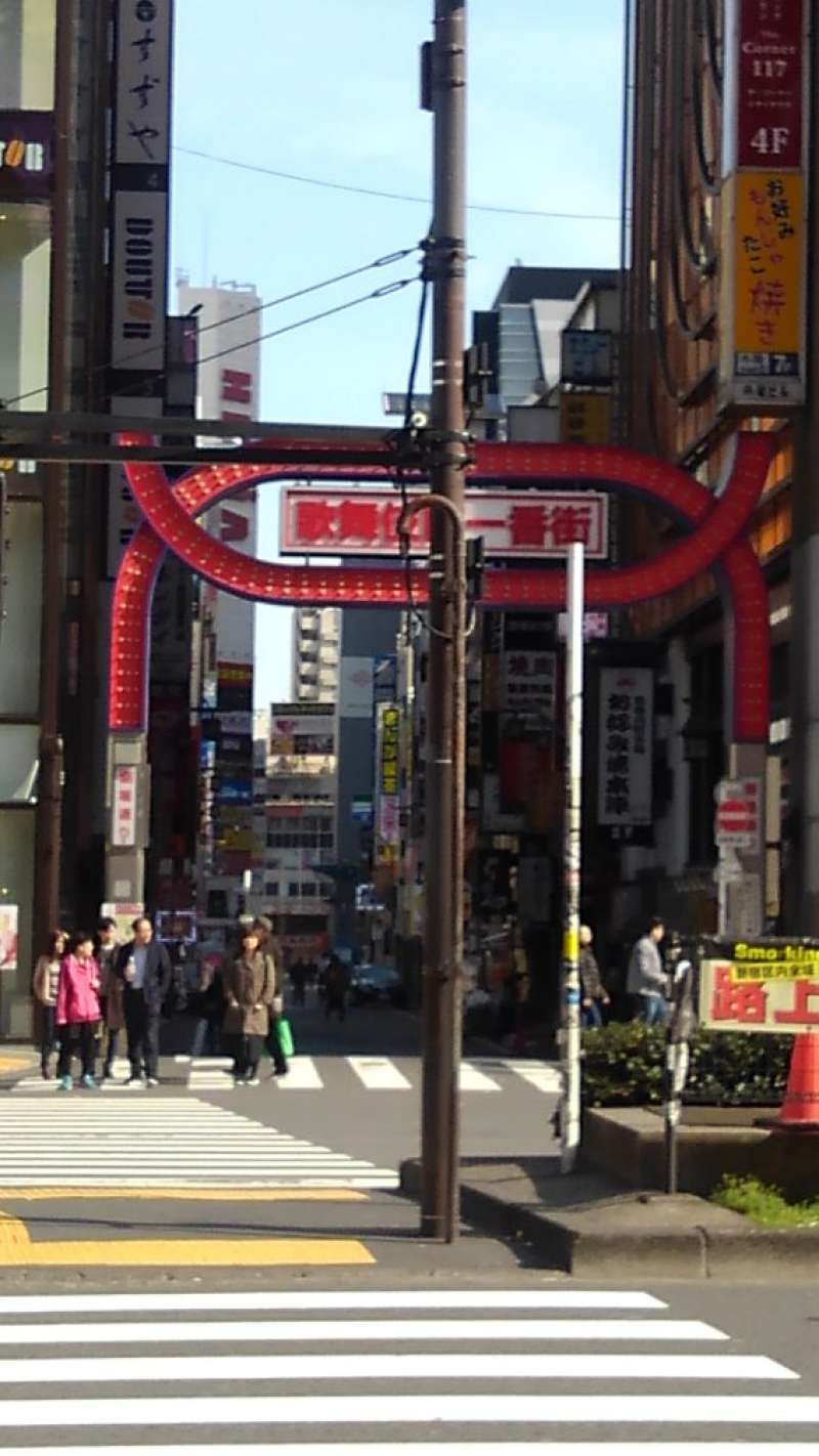 This is the main gate of Kabuki cho.