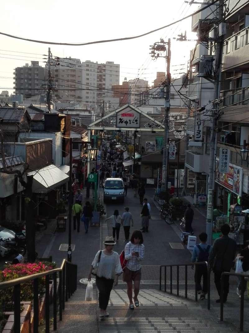 Yanaka Ginza Street in Yanaka Area