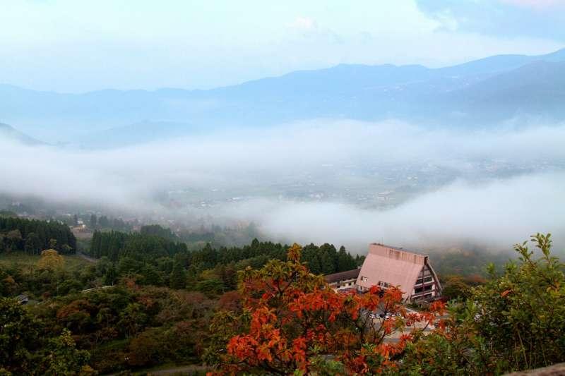 Cloud sea in Yufuin