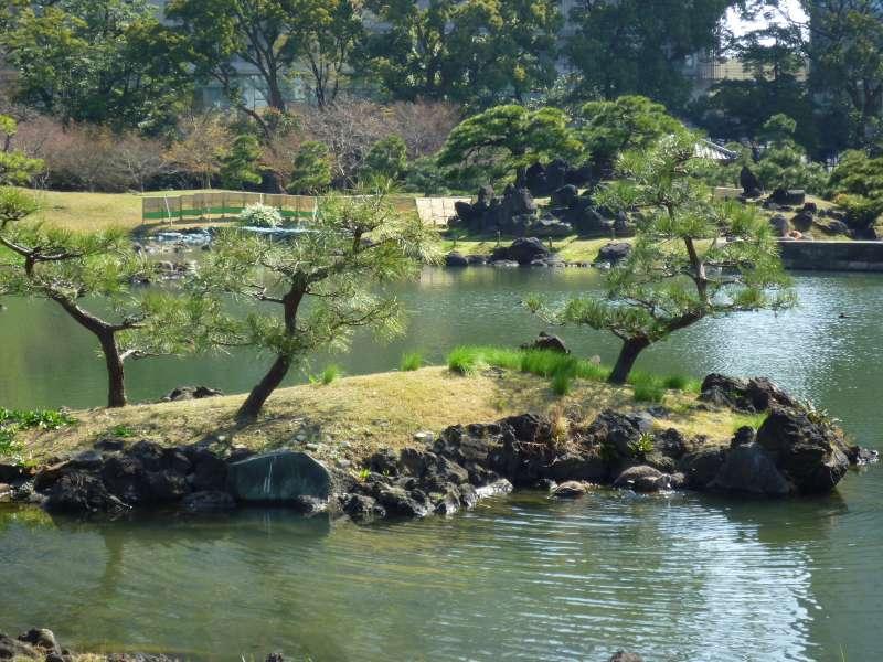 Der Shiba-japanische Garten