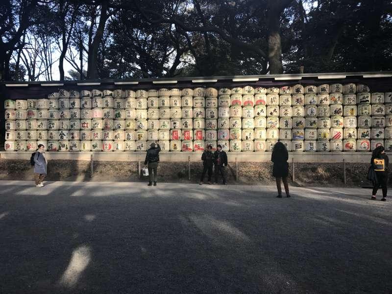 A whole lot of Sake