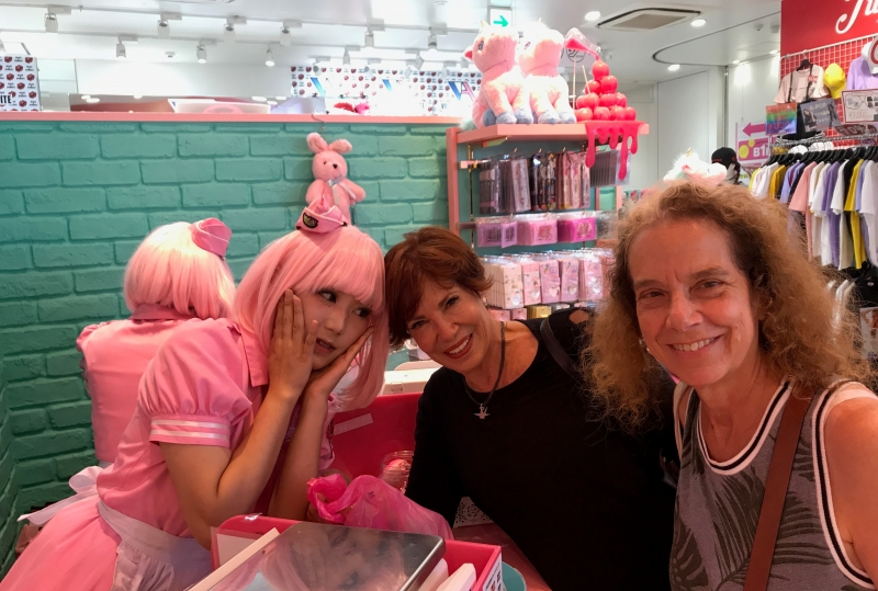 Look at the cute and sweet staff at the candy store! (#2)