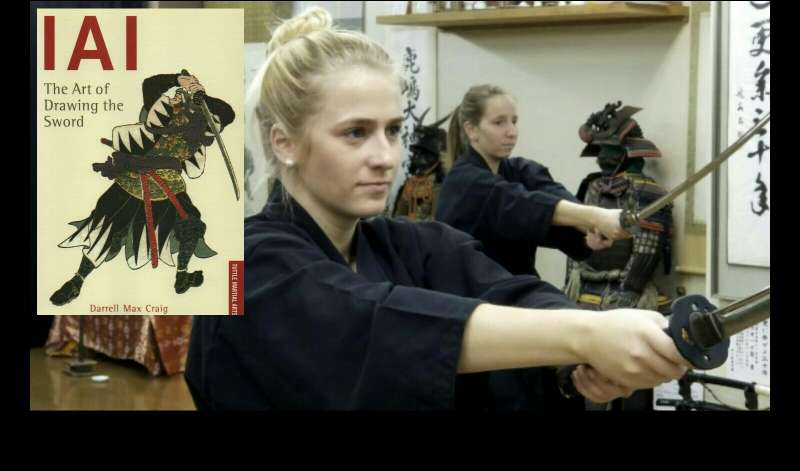 Private Iaido experience to learn Samurai spirit near the Imperial Palace in Tokyo!!