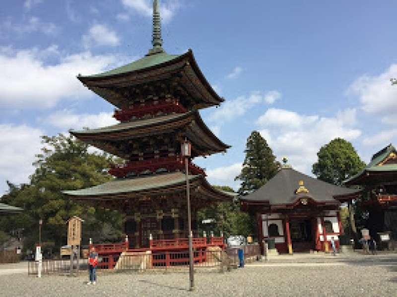 Three storied pagoda