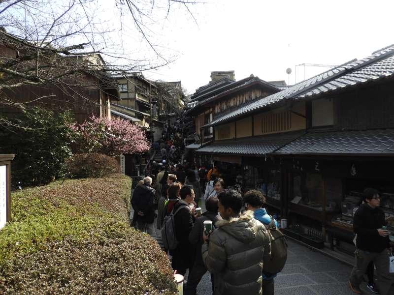 Sannenzaka and Ninenzaka paths in Higashiyama