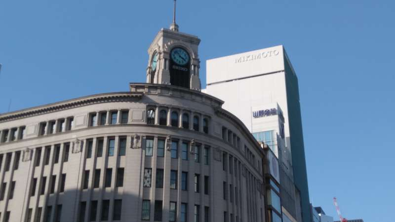 The symbol of the GINZA