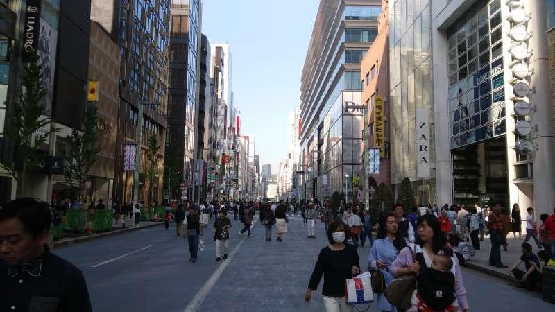 The pedestrian paradise!