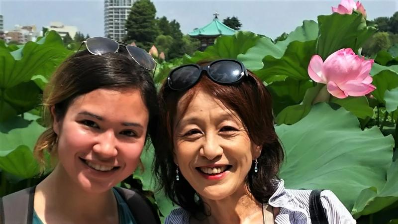 Shinobazu pond in summer♪