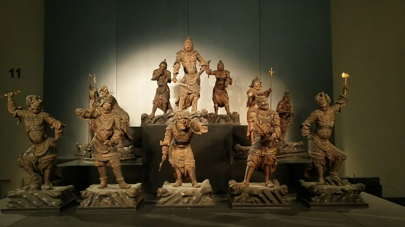 Exhibitions of TNM