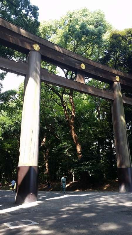 Meiji Shrine at Harajuku