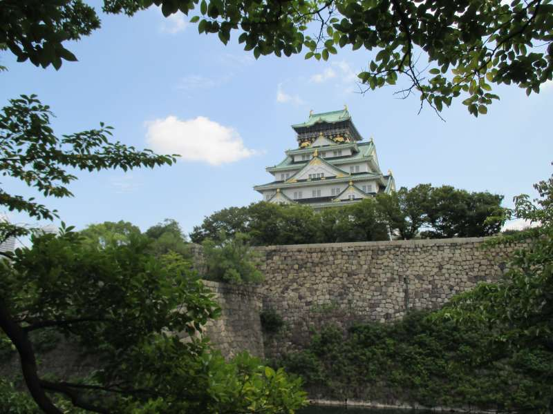 Osaka-jo Castle, One of the Symbols of Osaka City