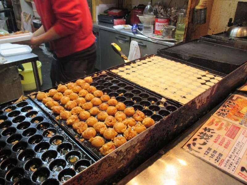 Osaka's Favorite Snack, Takoyaki
