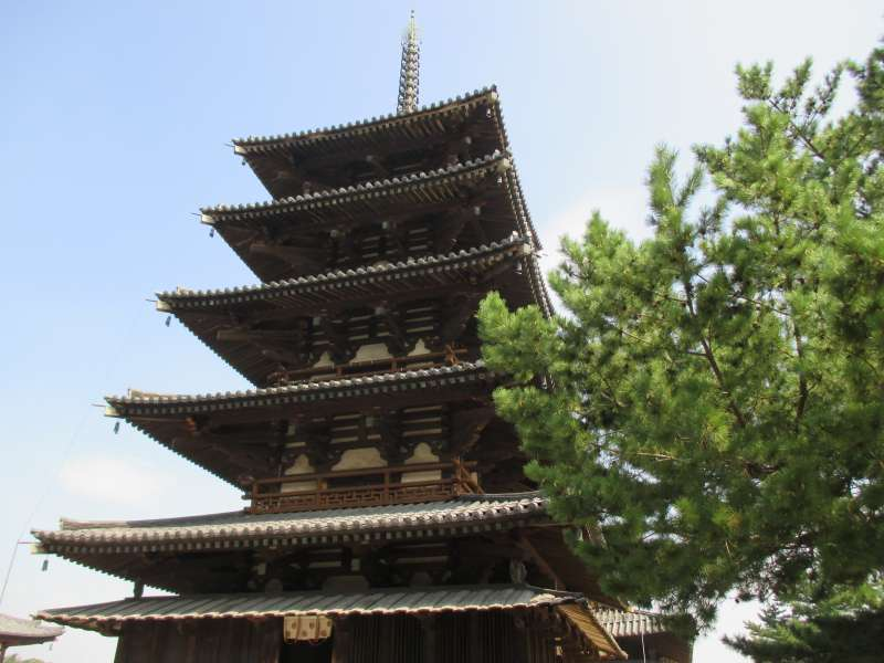 Five-story Pagoda of Hohryu-ji Temple