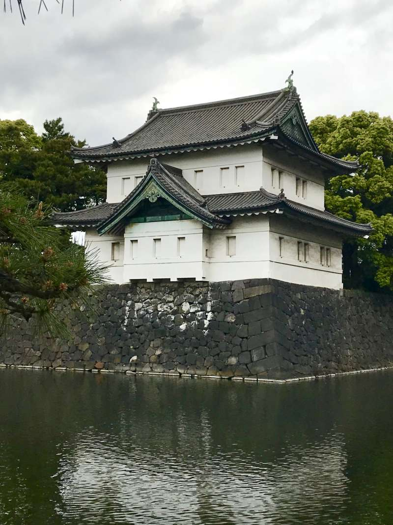 Sakurada-tatsumi Guard Tower