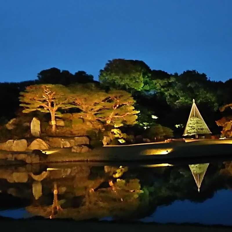 Traditional Rikugien garden