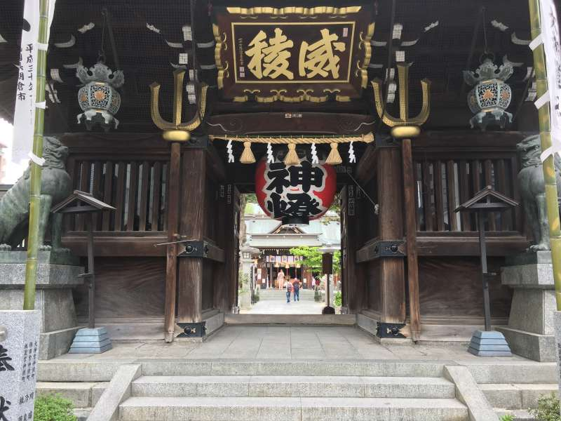 Kushida Shrine ( Hakata's Guardian Deities )