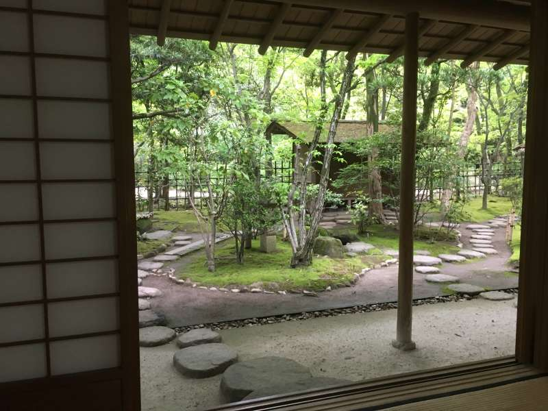 Rakusuien ( A Japanese garden for enjoying Hakata merchant