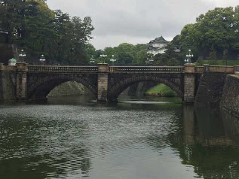Nijubashi Bridge in the Imperial palace