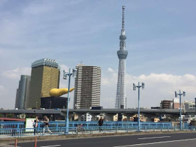 Skytree Viewing from Asakusa