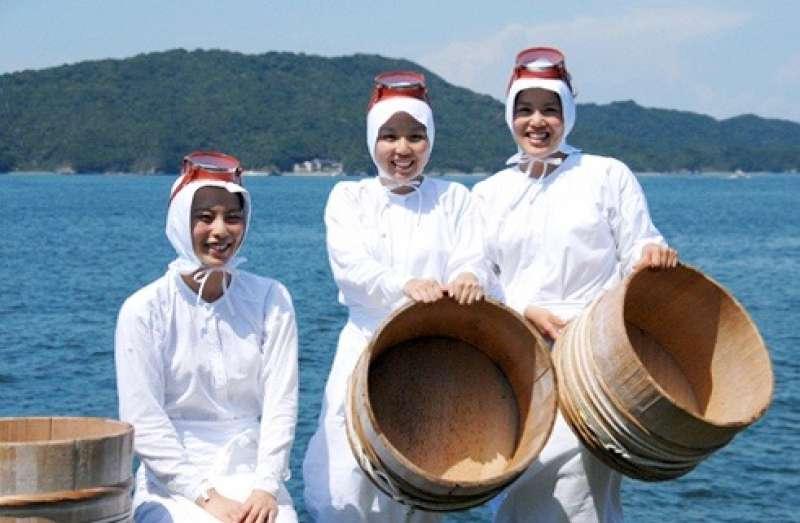 Ama - Women Fishing Divers at Mikimoto Island