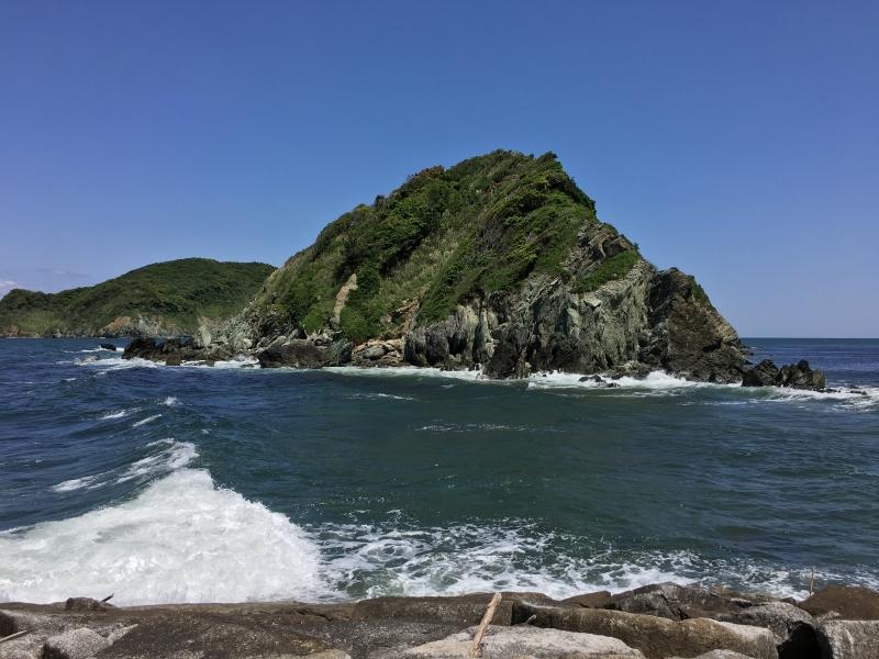 Dainakajima Island in front of Kwannon point